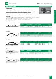 Vulcascot MCP 1 Cable Bridge Snap Fit Grey MCP 1 Data Sheet