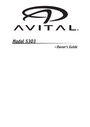 Avital 5303 User Manual