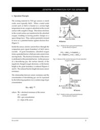 Figaro Gas Sensor Type 822 Carbon monoxide, ammonia, sulphur dioxide, alcohol, gasoline (Ø x H) 17 mm x 10 mm TGS-822 Data Sheet