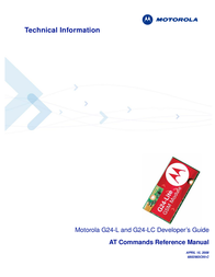 PioneerPOS AT Commands G24-L User Manual