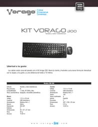 Vorago km-300 KM-300 Leaflet