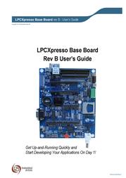 Embedded Artists LPCXPRESSO BASE BOARD EA-XPR-021 EA-XPR-021 Data Sheet