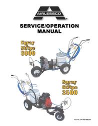 Wagner SprayTech 3500 User Manual