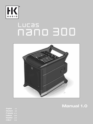 HK Audio Lucas Nano 300 LUCAS NANO 300 Data Sheet
