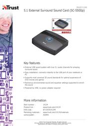 Trust SC-5500p 14134 Leaflet