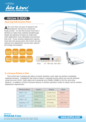 AirLive G.Duo G-DUO User Manual