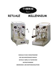 Isomac millenium User Guide
