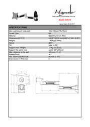 Highgrade AR210 HG-AR210 Leaflet