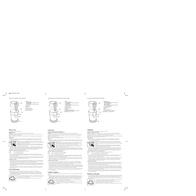 Applica CBG100W Coffee Grinder CBG100W Leaflet