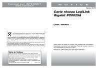 LogiLink Gigabit PCI Express Network Card PC0029A Data Sheet