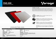 Vorago PAD-200 PAD-200 ROJA Leaflet