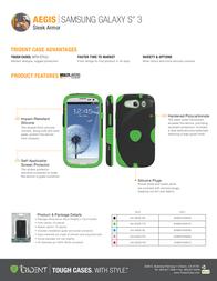 Trident Aegis AG-I9300-RD Leaflet