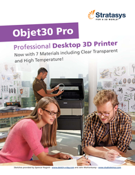 Stratasys Objet30 Pro OBJET30 PRO User Manual