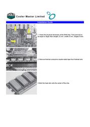 Cooler Master ARC-U01 Leaflet