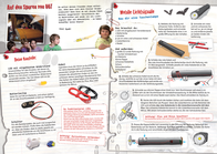 Franzis Verlag Science kit (set) Abenteuer Elektronik Geheim Nachrichten 65240 8 years and over 65240 Leaflet