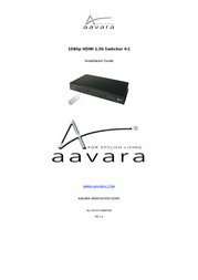 Aavara SW421 User Manual