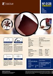 Noctua NF-S12B ULN Leaflet