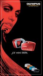 Olympus µ[mju:]-mini DIGITAL MJUMINIZW User Manual
