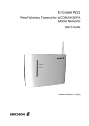Ericsson Router W21 User Manual