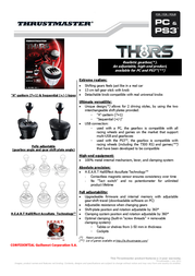 Thrustmaster TH8RS Shifter 4160579 Leaflet