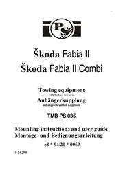 Skoda FABIA II TMB PS 035 User Manual