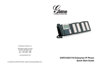 Grandstream Networks GXP2120 User Manual