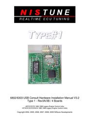 Nissan Type#11 6303 User Manual