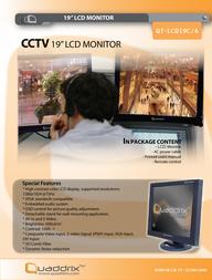 Quadrics QT-LCD19C/A User Manual