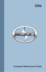 Scion 2006 tC User Manual