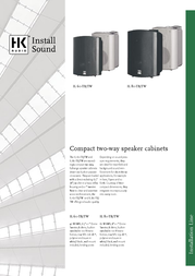 HK Audio IL 60-TB 4039373007671 User Manual