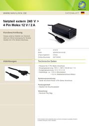 Navilock 41410 Leaflet
