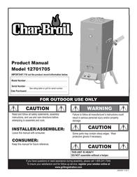 Char-Broil 12701705 User Manual