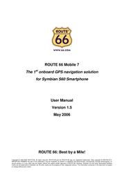 Route 66 mobile 7 User Manual