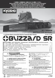 Kyosho Blizzard SR 30986 Data Sheet