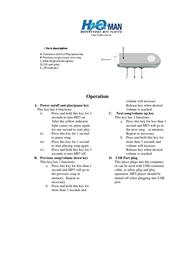 Intova h2o man User Guide