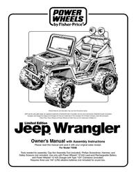 Jeep 75598 User Manual