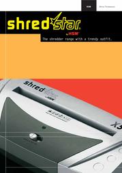 HSM Shredstar S5 1002 User Manual