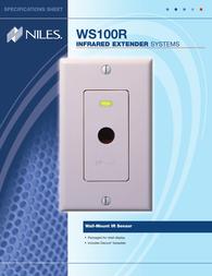 Niles Audio WS100R Leaflet