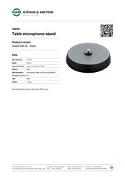 K&M 23220 23220-300-55 Leaflet