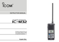 ICOM iM32 User Manual