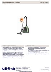 Nilfisk Power Allergy 905 9906 010 User Manual