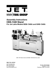 Jet 321443ak custom bench lathe stand User Guide