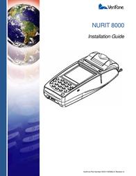 VeriFone NURIT 8000 User Manual