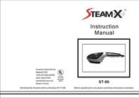 Smartek USA ST-80 Powerful Steam Brush ST-80 User Manual