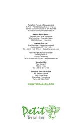Terraillon Doll 10 User Manual