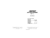Esprit ESPRIT 616 User Manual