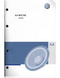 Volkswagen 3.4 RCD 510 User Manual