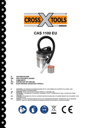 Crosstools Wet and Dry Vacuum Cleaner 18l 68518 Data Sheet