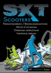 Sxt Scooters SXT COMPACT H300 78019-ESC300COMPACT Data Sheet