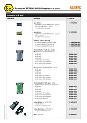 Bartec 17-A1Z0-0002 Leaflet